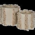 Panier en coton D40cm-MARA
