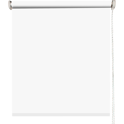 Store enrouleur uni tamisant blanc 120x190cm-TAMISANT