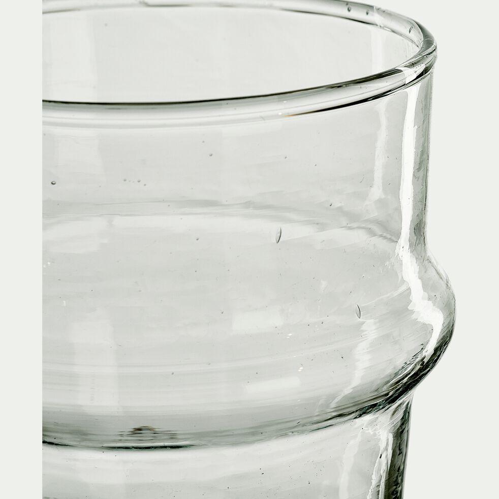 Verre marocain en verre recyclé 30cl-BELDI