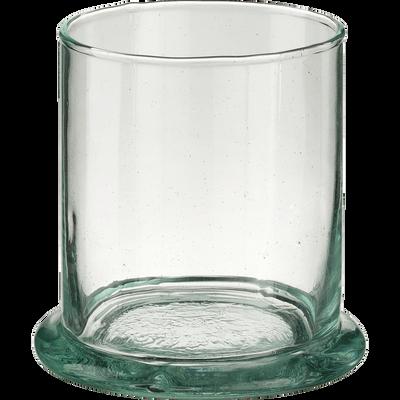 Verre transparent en verre recyclé 21cl-BALEM