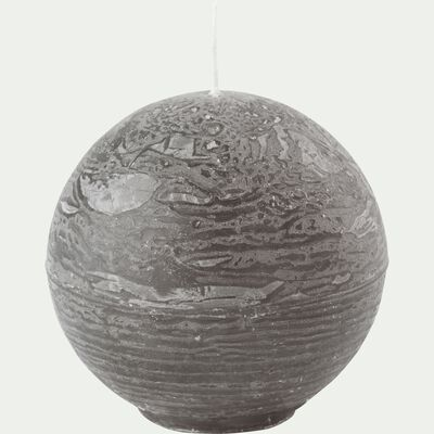 Bougie ronde - vert cèdre D6cm-BEJAIA