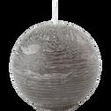 Bougie ronde vert cèdre D6cm-BEJAIA
