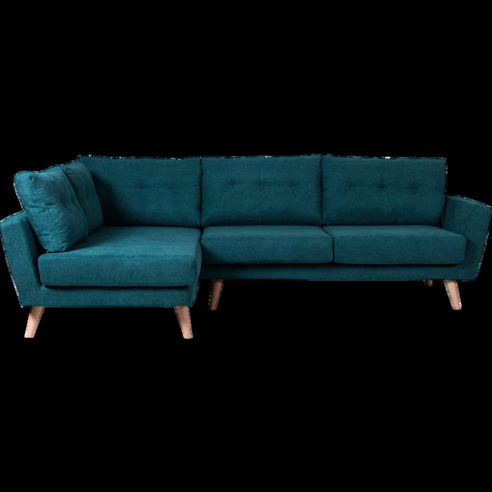 canap d 39 angle fixe gauche en tissu vert icone canap s d 39 angle en tissu alinea. Black Bedroom Furniture Sets. Home Design Ideas
