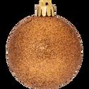 Lot de 33 décorations de Noël cuivré-Peire