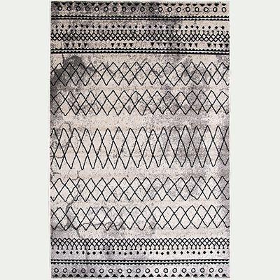 Tapis aux motifs berbères - gris 160x230cm-BIMAN