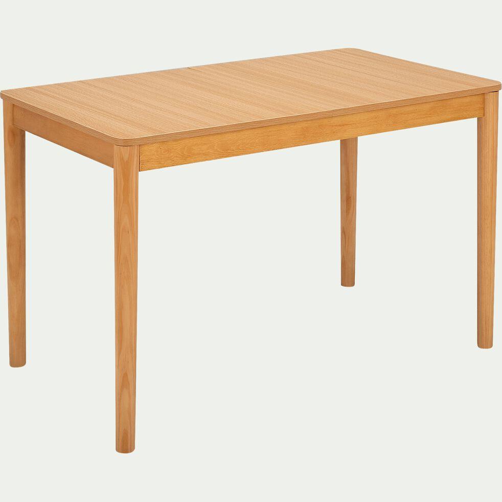 Table de repas extensible en bois  - naturel  (4 à 6 places)-PEDRO