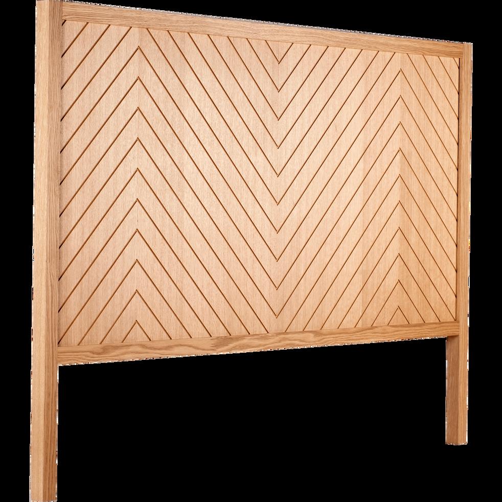 t te de lit couleur ch ne l160 cm oscillo l160 cm t tes de lit alinea. Black Bedroom Furniture Sets. Home Design Ideas