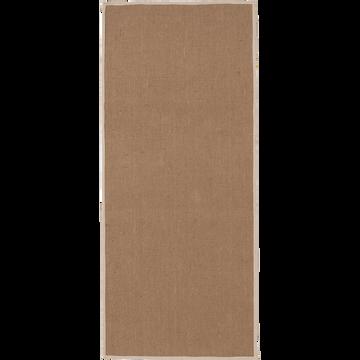 Tapis de couloir en jute 60x140cm-MAGNOLIAS