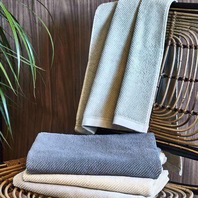 Linge de toilette bouclette en coton bio - beige roucas-COLINE