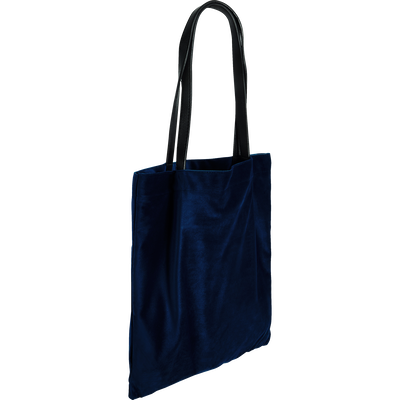 Sac en velours bleu-SANTAL