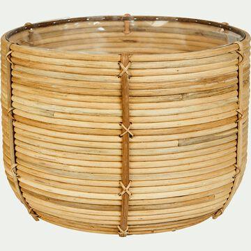 Cache-pot en rotin H30XD41CM-Kokand
