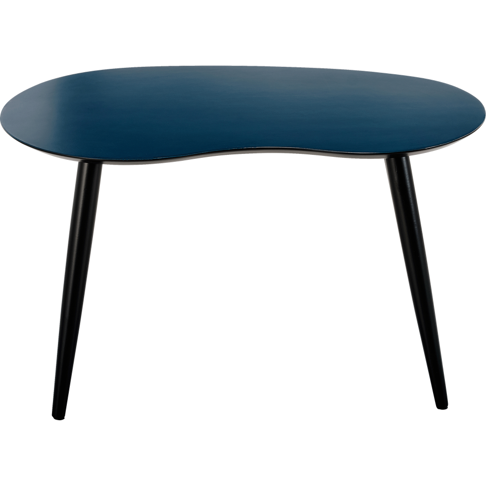 Table basse bleu figuerolles-ECTOT