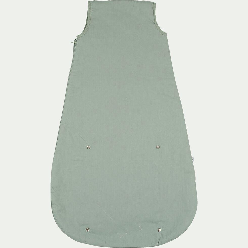Gigoteuse évolutive en coton bio (70 à 90cm) - vert-Plume