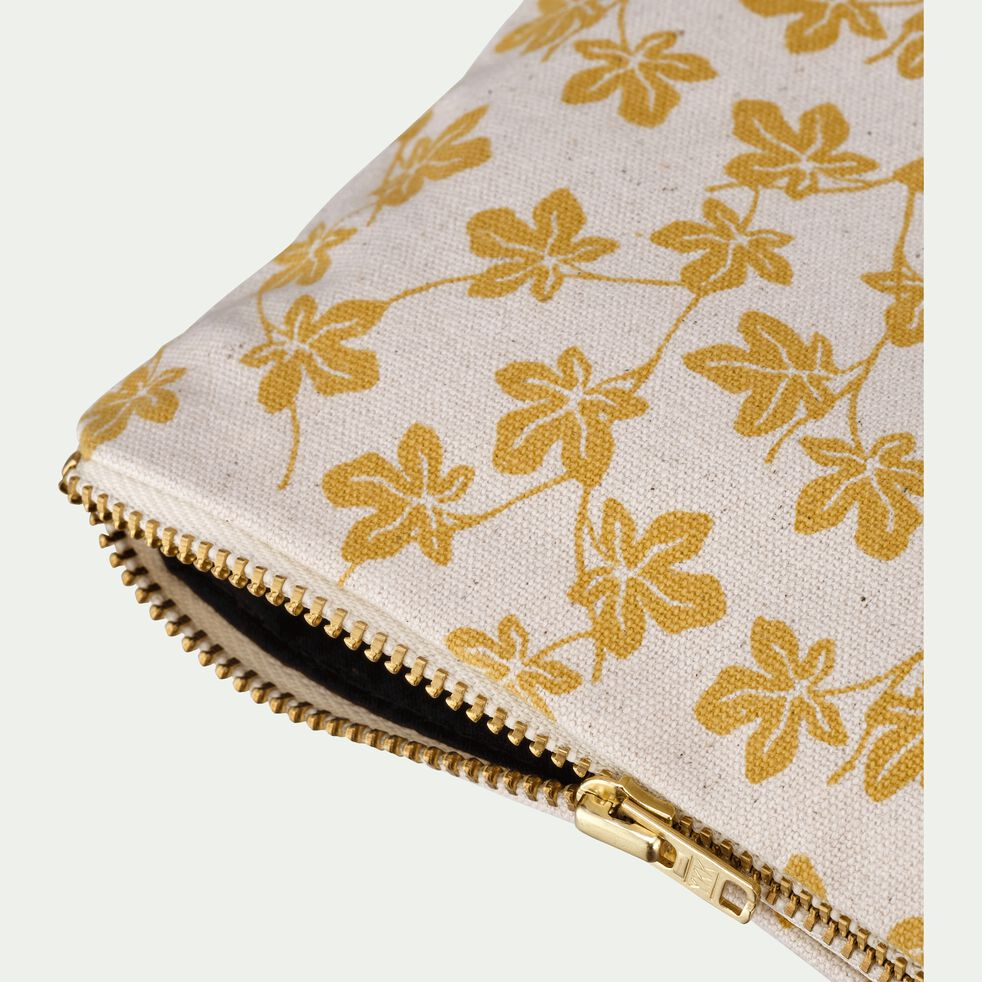 Pochette en coton figuier-FIGUIER