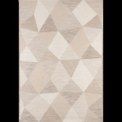 Tapis extérieur et intérieur 120x170cm beige-METRIX