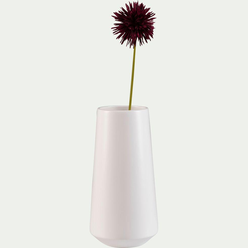 Grand vase en céramique - blanc ventoux H33cm-BISEL