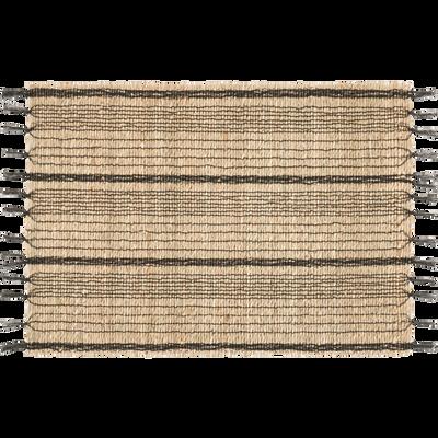 Set de table en jacinthe d'eau 33x40cm-HASSAN