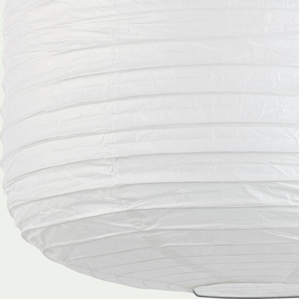 Suspension en papier D40xH50cm - blanc-ALOU