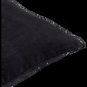 Coussin en lin lavé gris calabrun 45x45cm-VENCE