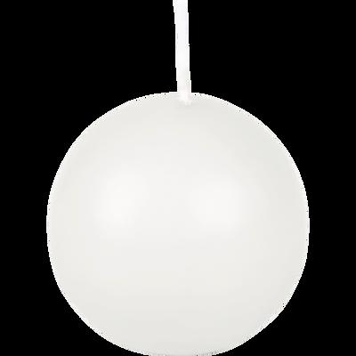 Bougie ronde blanc ventoux D6cm-HALBA