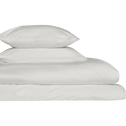 Lot de 2 taies d'oreiller en coton Blanc capelan 50x70cm-CALANQUES