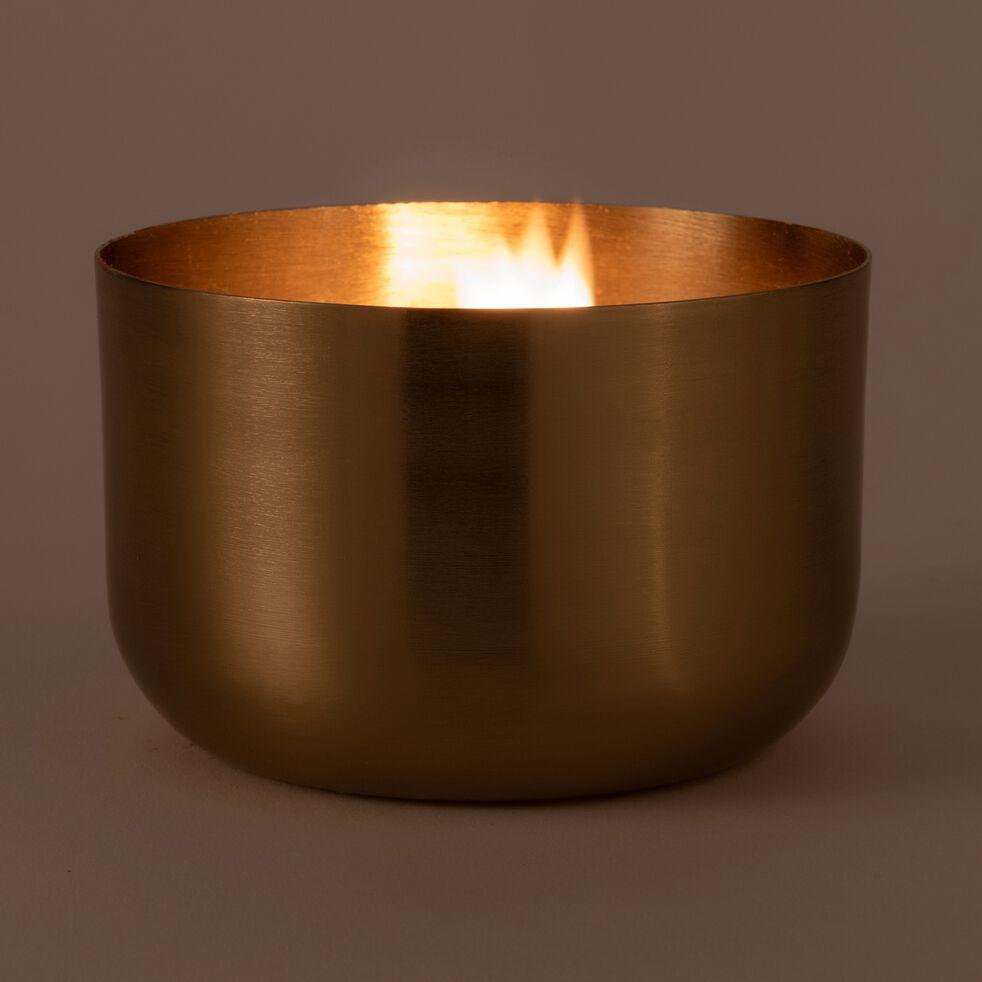 Bougie dorée 375g (plusieurs tailles)-EPSILON