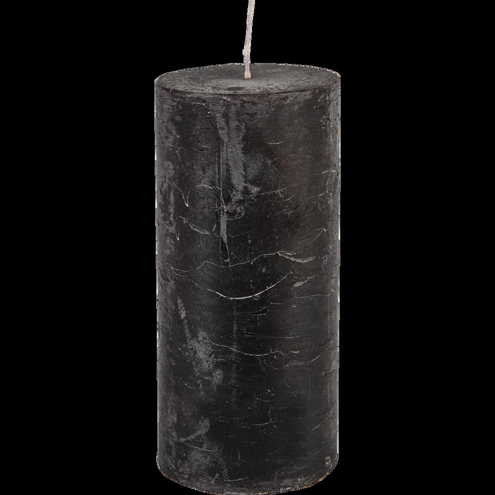 Bougie cylindrique coloris gris calabrun-BEJAIA