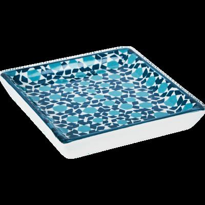 Plateau en céramique 11x11 cm-OPUNTIA