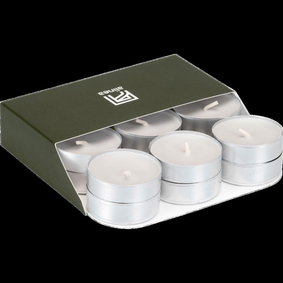 18 bougies chauffe-plats gris borie-HALBA