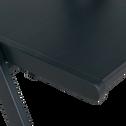 Chaise pliante en bois plaqué noir calabrun-JULIA