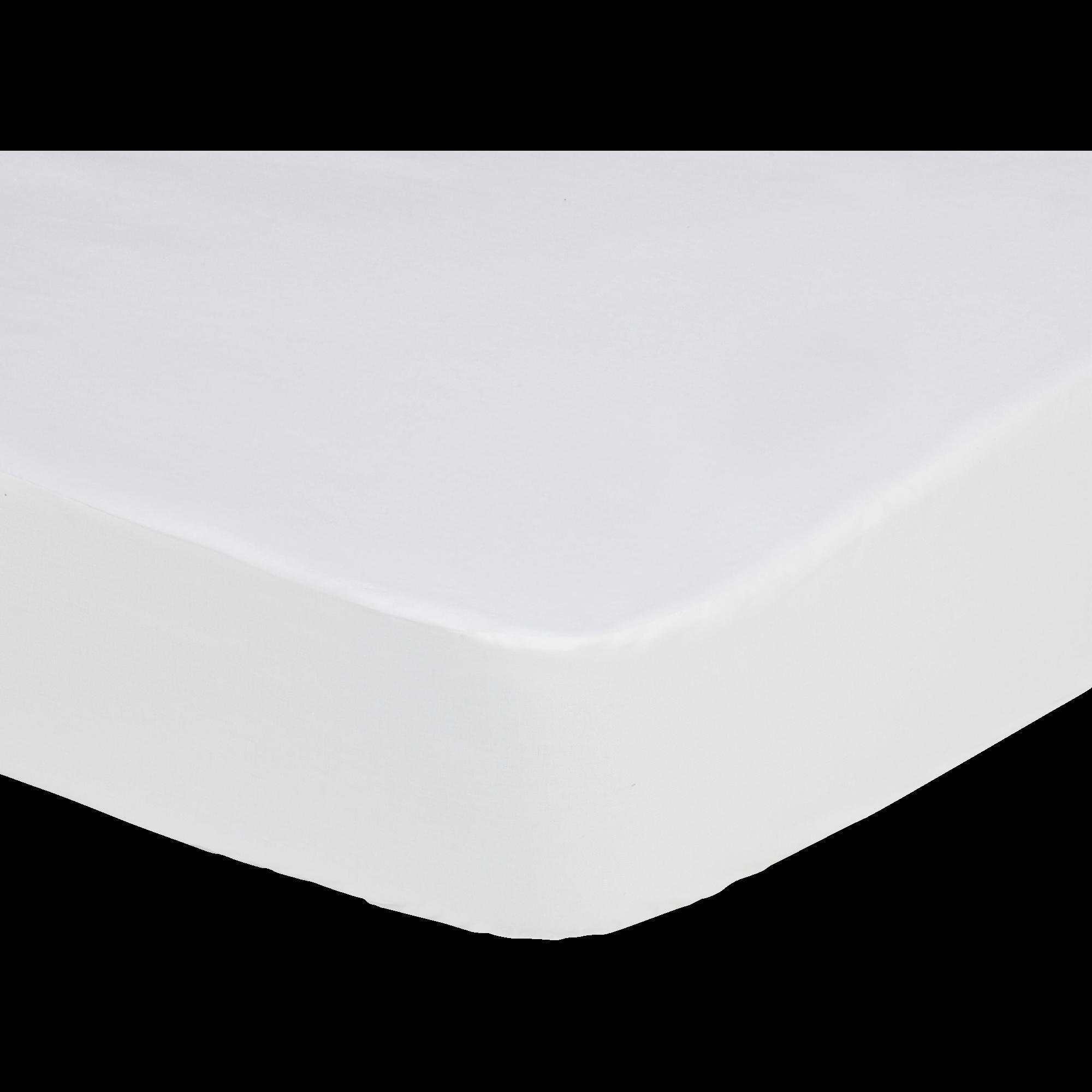 Dry   Protège Matelas Imperméable En Coton 140x200cm Bonnet 25cm