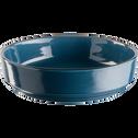 Saladier en faïence bleu figuerolles D24cm-LANKA