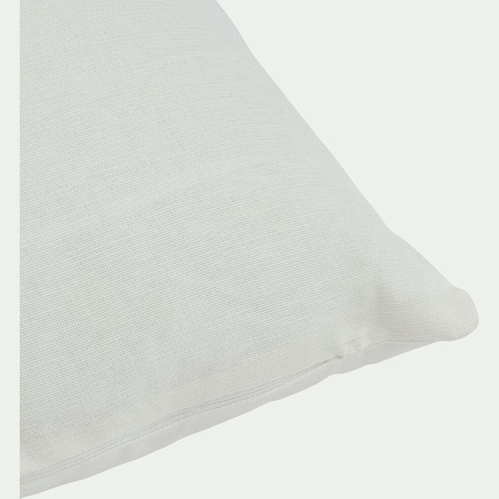 Coussin en coton - beige ventoux 40x60cm-CALANQUES