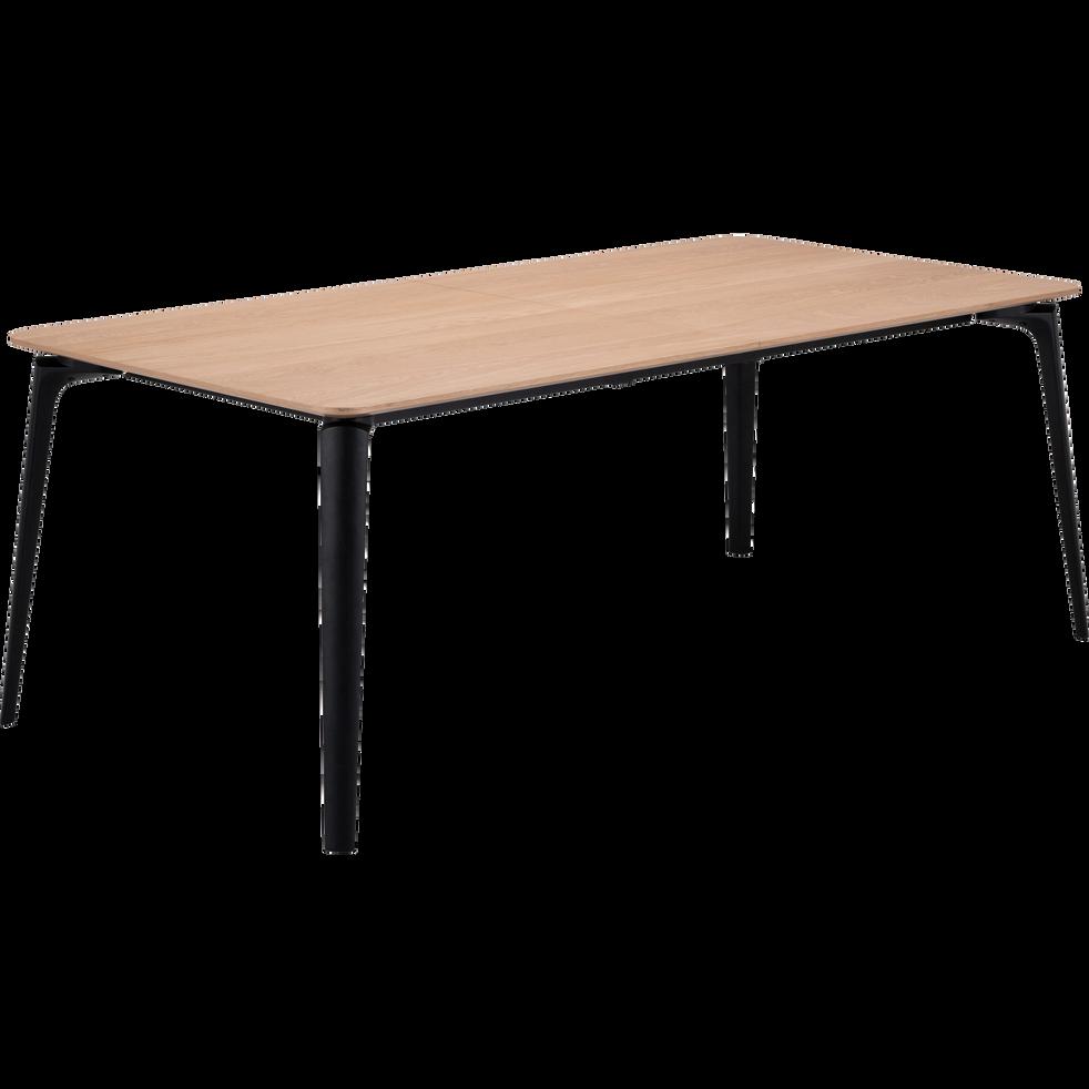 table de repas extensible plaqu e ch ne 6 12 places callistine catalogue storefront. Black Bedroom Furniture Sets. Home Design Ideas
