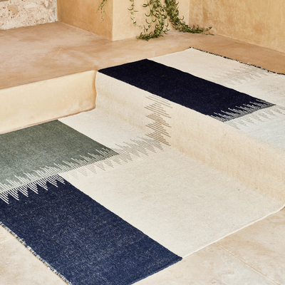 Tapis en laine écru 160x230cm-ADEL