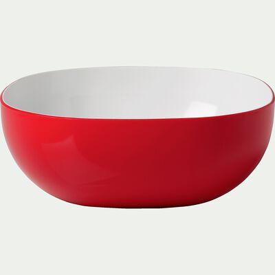Saladier en mélamine rouge 4L-FLASH