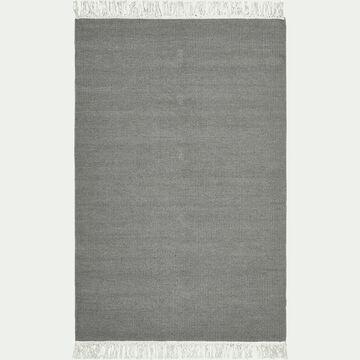 Tapis en laine et coton - gris restanque 150x200cm-ULISSE