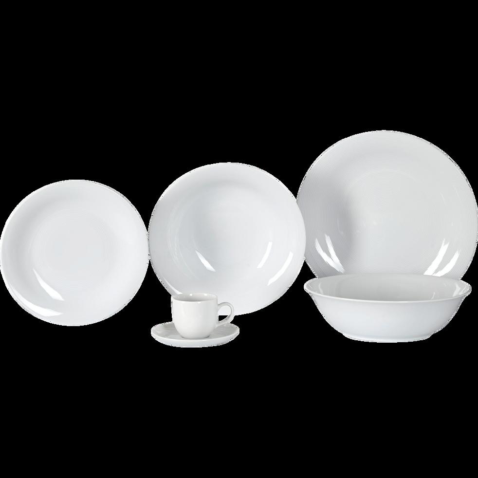 Assiette creuse en porcelaine qualité hôtelière D23cm-Eto