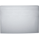 Structure de tête de lit recouverte d'un intissé Blanc - L180 cm-HONORE