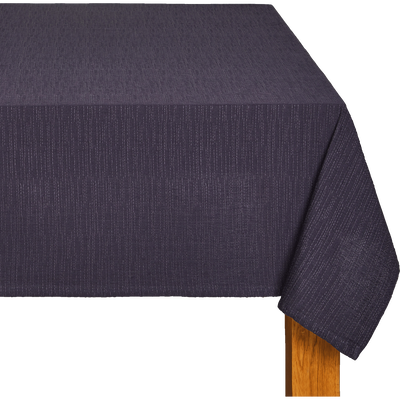 Nappe en coton bleu myrte 170x250cm-CABANON