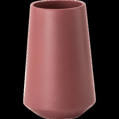 Vase en céramique rouge H25cm-PLEIADE