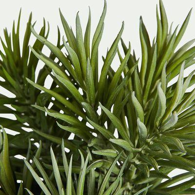 Plante grasse artificielle H23cm-EPINE POT