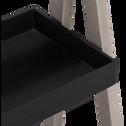 Lot de 2 étagères porte-plantes noir H76,5 cm-LOUBET