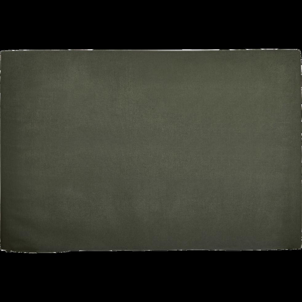 Housse pour tête de lit Topaze Vert cèdre - L160-TOPAZE