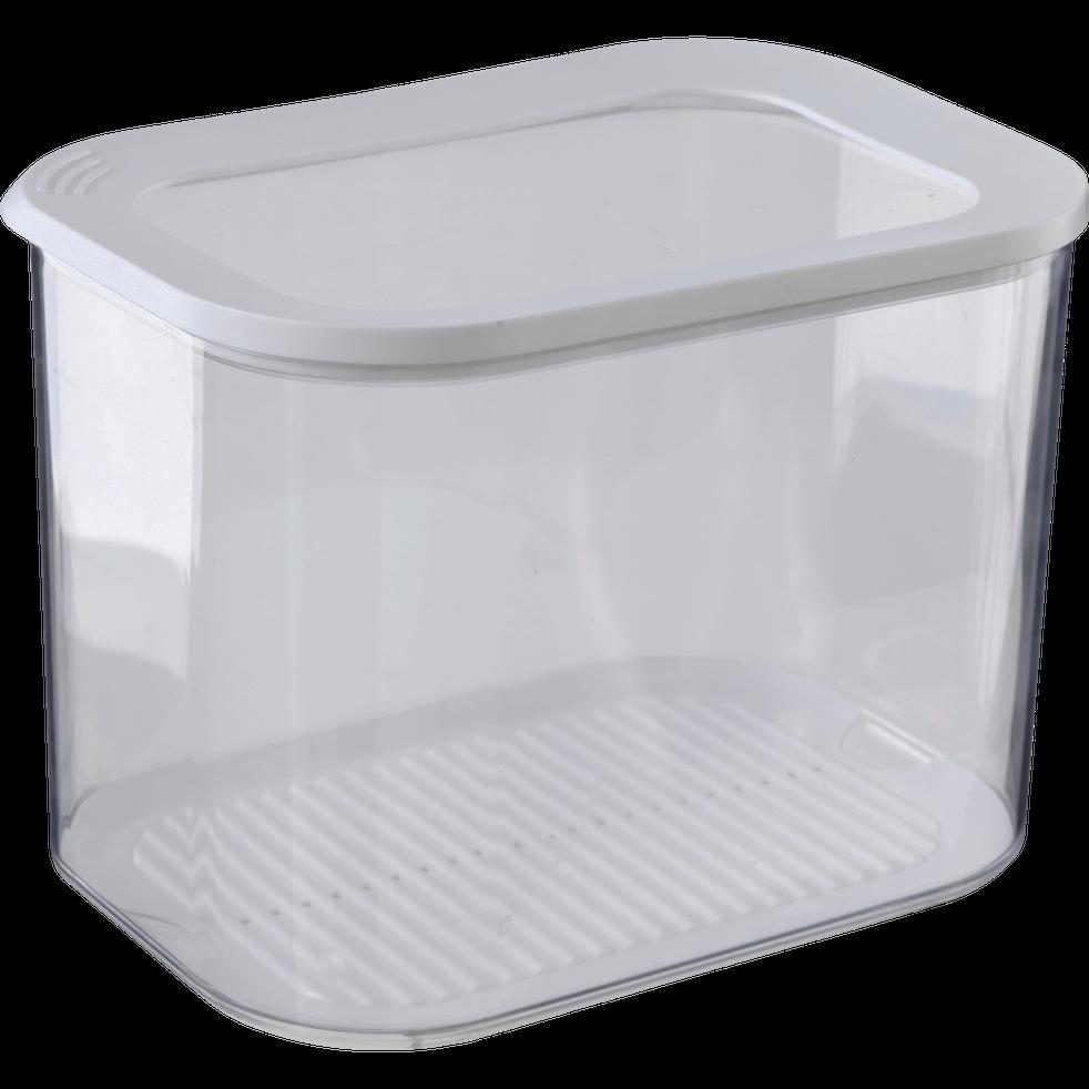 Boîte de rangement en plastique 4.5L-MODULA