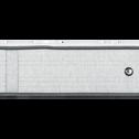 Matelas ressorts Edonia gris clair 140x200cm H25cm-ROCCAS