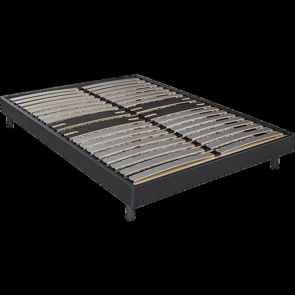 Sommier tapissier gris Alinéa 12,5 cm en kit - 160x200 cm-DECOKIT