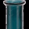 Vase en verre recyclé bleu H100cm-KYARA