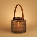 Lanterne en verreH17xD18cm-MARGOT