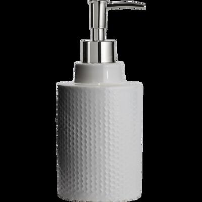 Distributeur de savon en céramique Blanc Ventoux-Ghibo